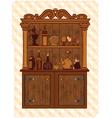Vintage Cupboard vector image vector image