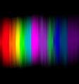 Abstract lights with colorful background vector image