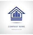 Abstract Real estate logo design template vector image vector image