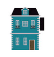 brick house or home icon image vector image vector image
