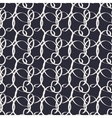 Geometric hand drawn seamless pattern with ribbons vector image