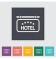 Hotel vector image