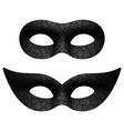 Masquerade eye mask vector image vector image