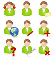 noperson icons vector image vector image