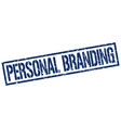 personal branding stamp vector image vector image