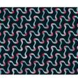 Seamless Blue Pink Shades Diagonal Wavy vector image