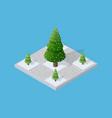 set snow snowbound vector image vector image
