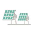 solar panel renewable energy alternative vector image vector image