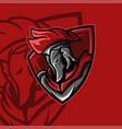 spartan red team vector image vector image