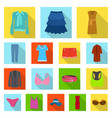 woman and clothing icon vector image vector image