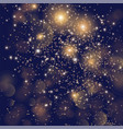 festive background with sparkles and glitter vector image