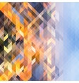 Abstract multicolored background of triangles vector image