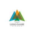- business abstract logo design template vector image vector image
