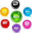 buy buttons vector image vector image