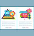premium best offer advertisement stickers set vector image vector image
