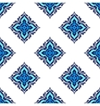 Seamless tiled pattern design vector image vector image