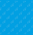 spotted lizard pattern seamless blue vector image vector image