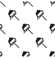 Squeegee black icon for web and vector image vector image
