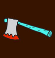 ax icon halloween simple sign vector image vector image