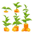 business growth concept creativity vector image vector image