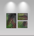 digital art picture color on the wall in web vector image vector image