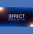 flash light effect on brick wall explosion and vector image