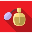Perfume bottle flat icon vector image vector image