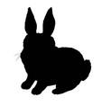 rabbit icon rabbit sign symbol on white vector image vector image