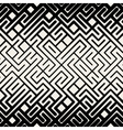 Seamless Black and White Stripes Line vector image