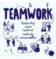 Teamwork Design Concept vector image vector image
