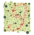 Colored circles Colorful background vector image