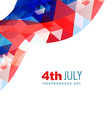 abstract american independence day vector image vector image
