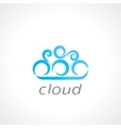 cloud symbol vector image