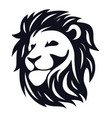 head lion vector image vector image
