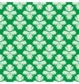 Simple elegant pattern in jade green vector image