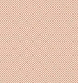 White Geometric Pattern on Beige vector image vector image