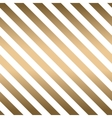 Classic diagonal lines pattern on white vector image vector image