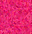 Pink abstract mosaic pattern background vector image