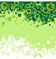 Shamrock Leaf background vector image