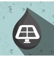 symbol of solar panel isolated icon design vector image