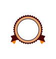 template emblem blank vector image