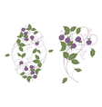 wood berries vector image