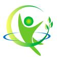 Health nature men logo