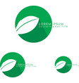 Eco Friendly Logo vector image
