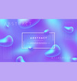 abstract background with blue and purple color vector image vector image