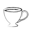cup hot drink vector image vector image