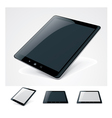 generic tablet pc vector image vector image