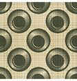 ornate polka dot vector image