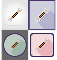 repair tools flat icons 15 vector image vector image