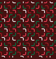 simple stick pattern new-year vector image vector image